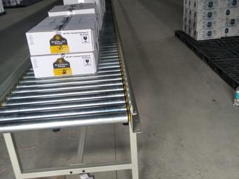 Gravity Roller Conveyors For carton Boxes