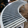 Curve Roller Conveyors using Taper Rollers