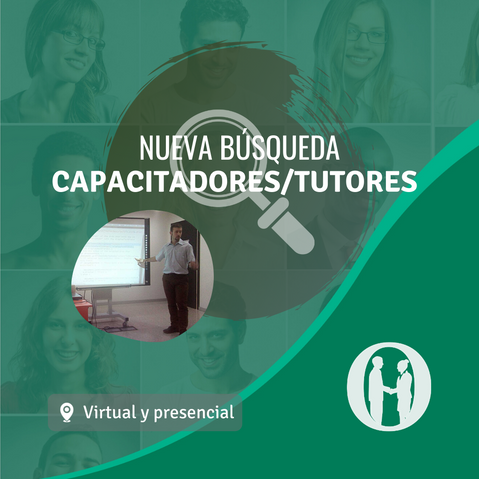 Capacitadores/tutores para dar cursos