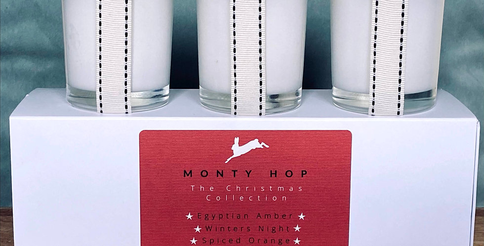 The Christmas Collection, Three 9cl Travel Candles
