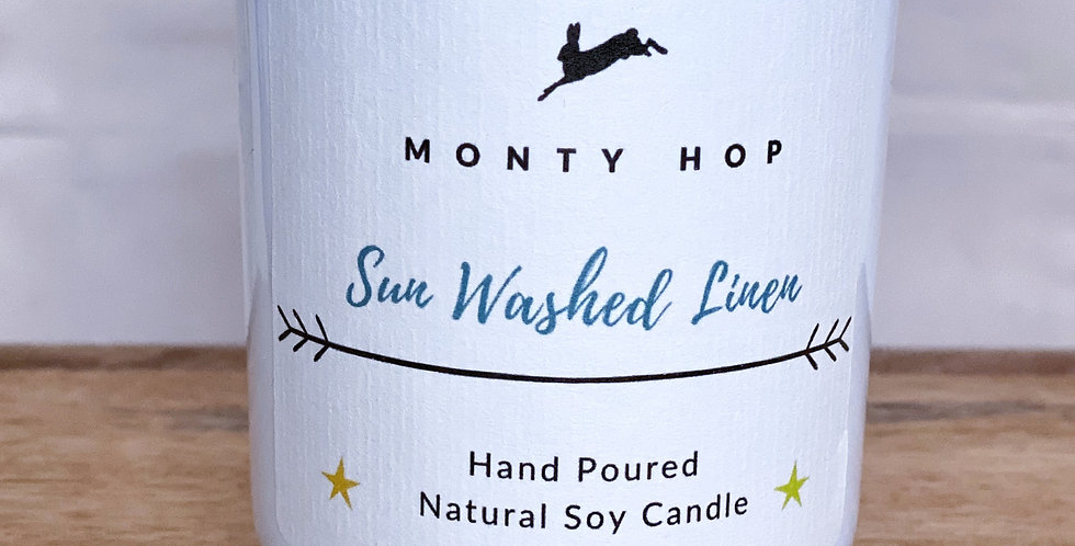 Sun Washed Linen 20cl Soy Candle