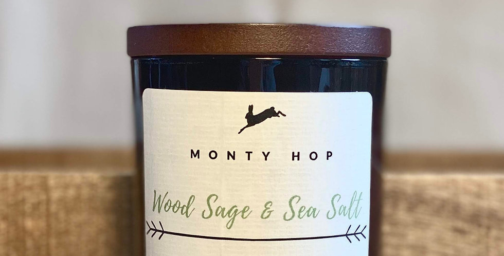 Wood Sage and Sea Salt 20cl Soy Candle