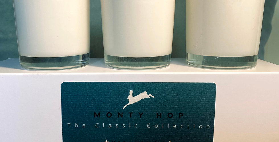 The Classic Collection, Three 9cl Travel candles