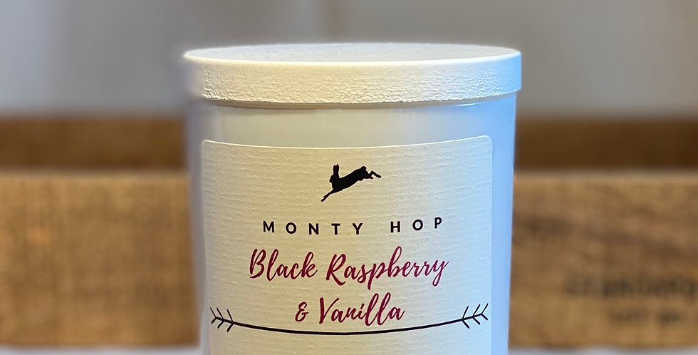 Black Raspberry and Vanilla 20cl Soy Candle