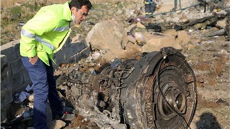 Accidente del Boeing 737-800 en Irán