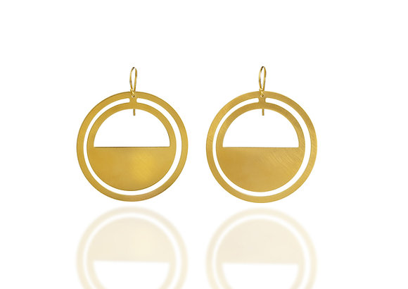 Bauhaus 3 Earrings