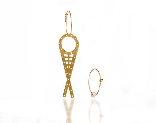 Arch Fish Earrings
