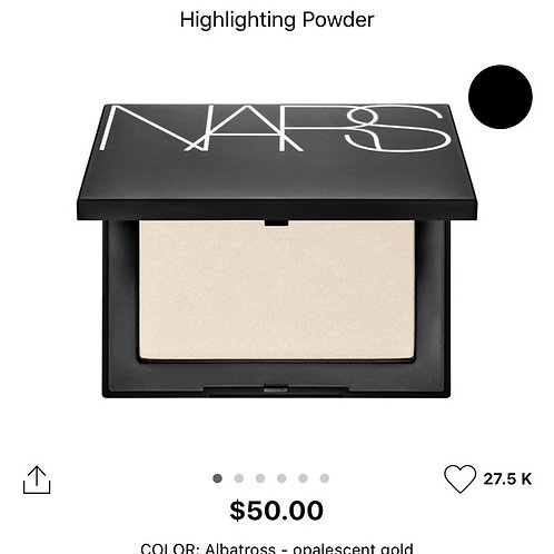 NARS Highlight Powder in 'Albatross'