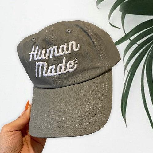 HUMAN MADE | 6 Panel Text Logo Cap