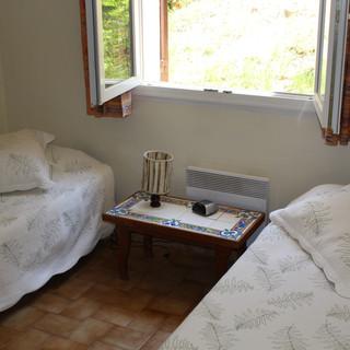 Third bedroom of Provence escape, La Jassine, in the Luberon