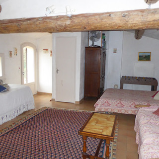 Office/sitting room doubles as extra bedroom in Provence escape