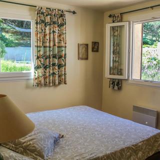 Master Bedroom of Provence escape, La Jassine, in the Luberon