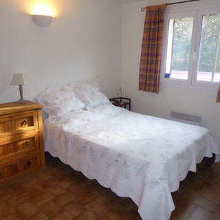 Second bedroom of Provence escape, La Jassine, in the Luberon