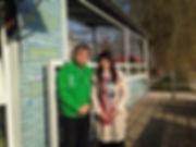 Bula Barua Fine Art and Huang Ming, CEO of Himin Solar
