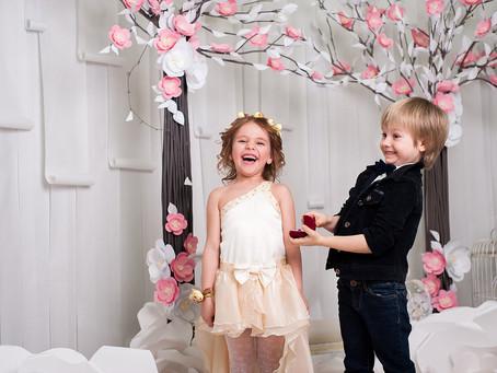 Qui va s'occuper des enfants le jour du Mariage ?