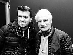 Nicolas Bennegent avec Yann Arthus Bertrand