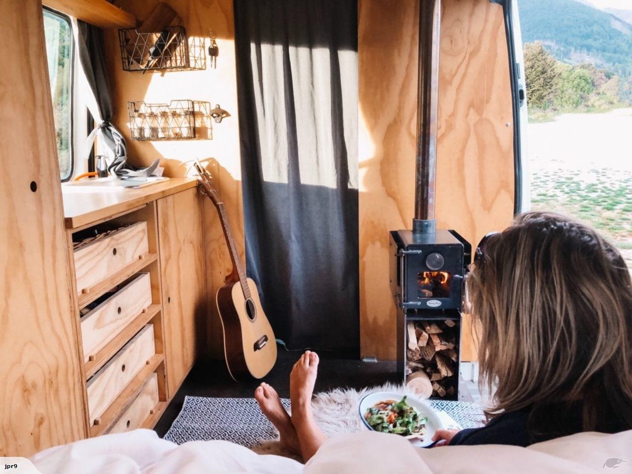 Handcrafted Wood Burners for campervans