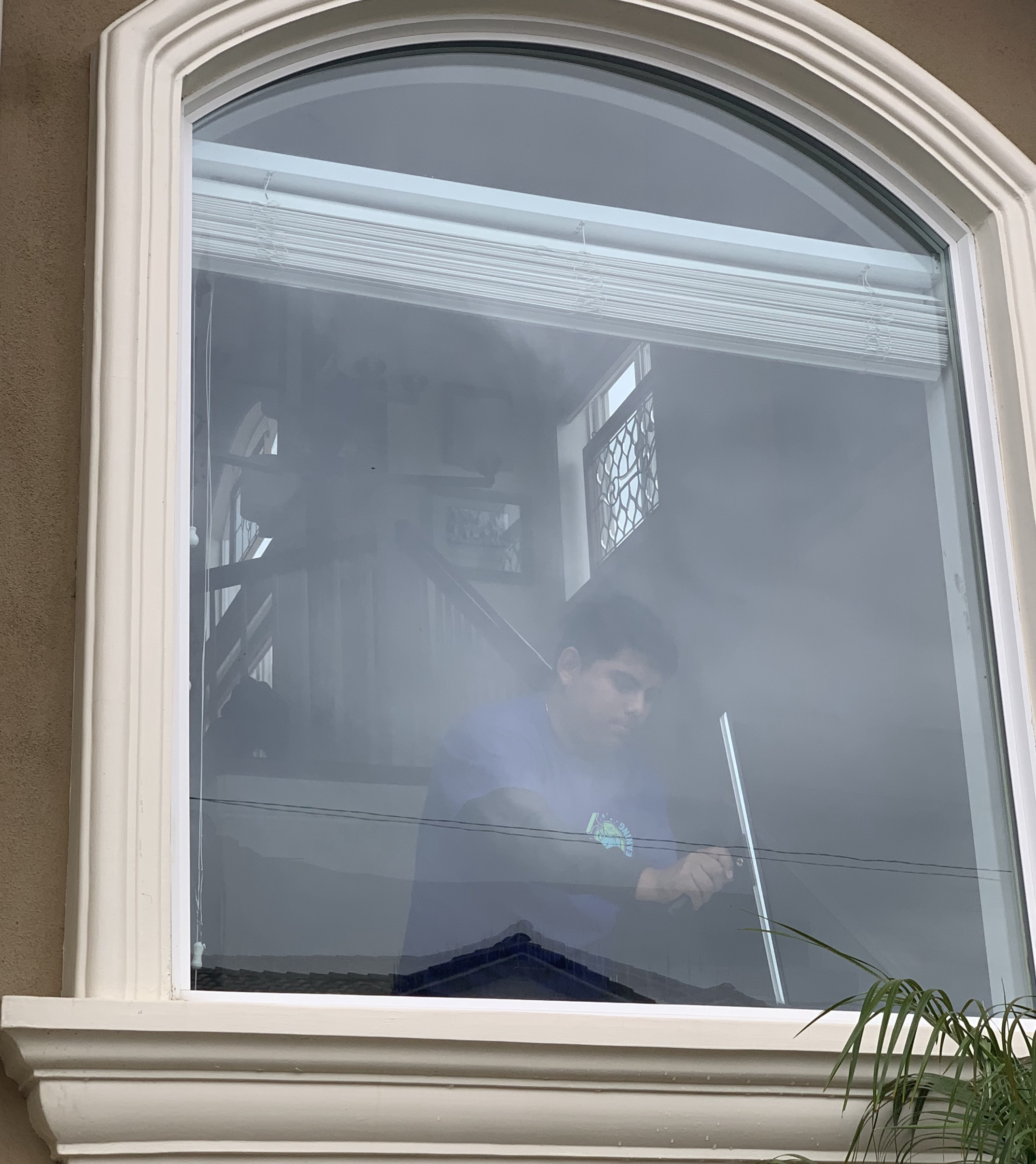 Panoramic window cleaning - by JCA