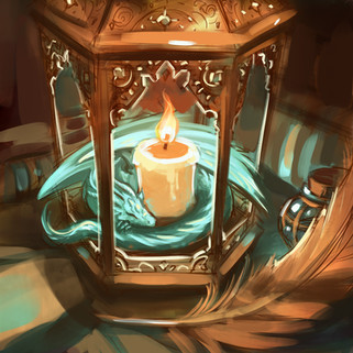 Tiny Dragon Lantern