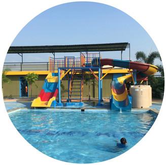 Mini Sliding Pool