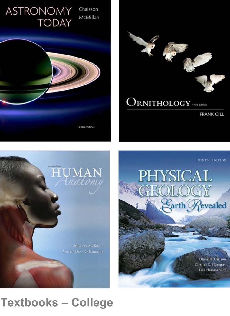Textbooks Load