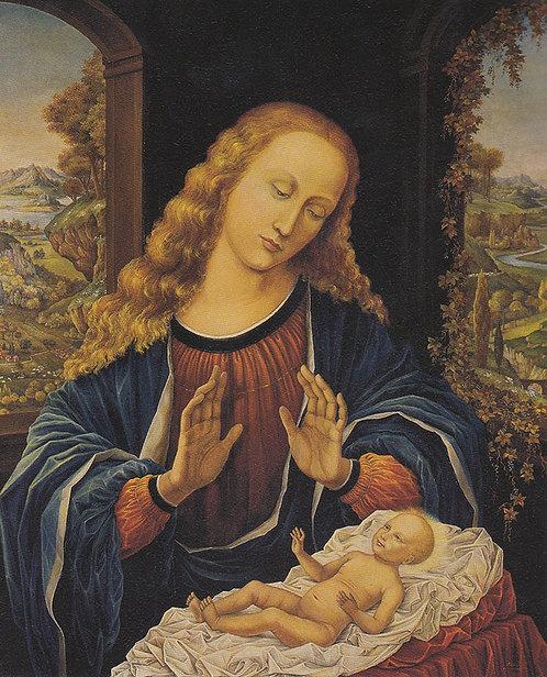 La Vierge à l'Enfant - Prix sur Demande