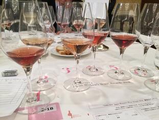 Jury of Sakura Japan Women's Wine Awards 2018. Very nice team! More than 40 wines tasted. www.sa