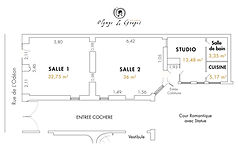 Plan Galerie Olympe de Gouges