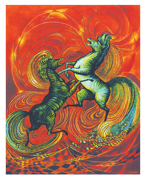 Les Deux Cavaliers (Vendu)