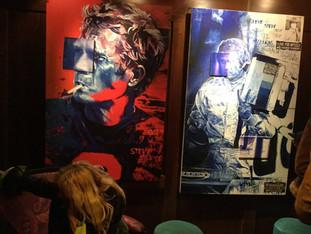 Exposition de l'artiste Natacha Toutain au Buddha Bar - Steve McQueen....