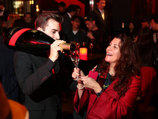 G.H.MUMM Champagne party in Tokyo with Usain Bolt