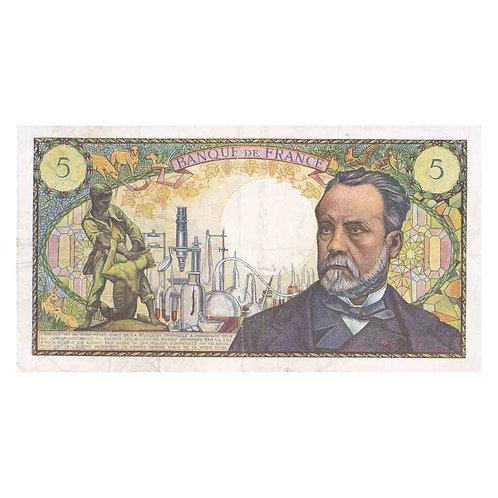 Billet 5 Francs - Pasteur
