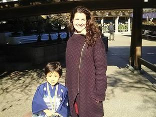 Le petit samourai Leo et sa jolie maman Keiko