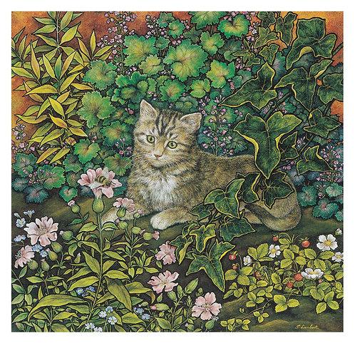 Le Chat et l'Abeille (Vendu)