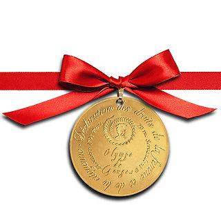 Médaillon Nordic Gold