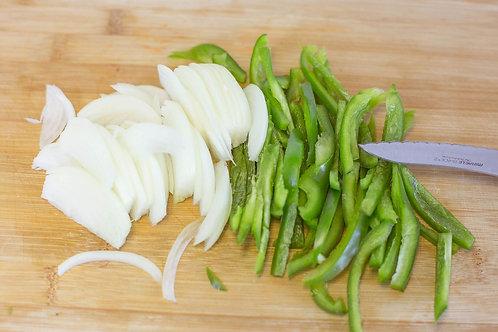 Roasted Fajita Peppers