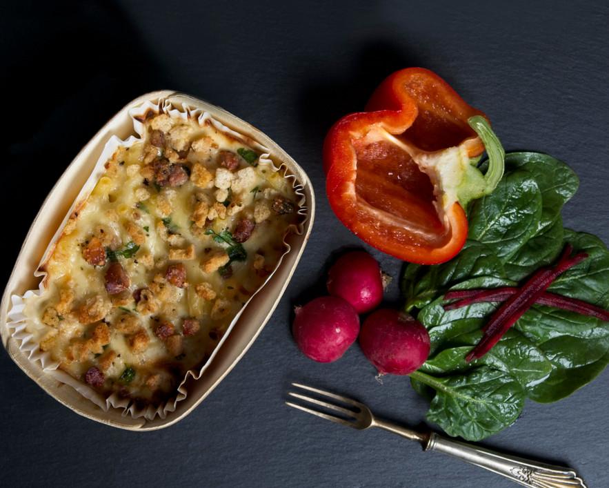 Charlie Bigham macaroni cheese for lockdown blog
