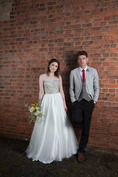 Fashion shoot for Bridal Village