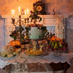 Miss Havisham's wedding feast (Pink Lady Food Photographer competition)