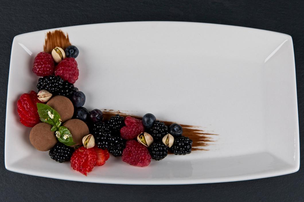 Vegan Restaurant Recipe Trials - Dessert Plate