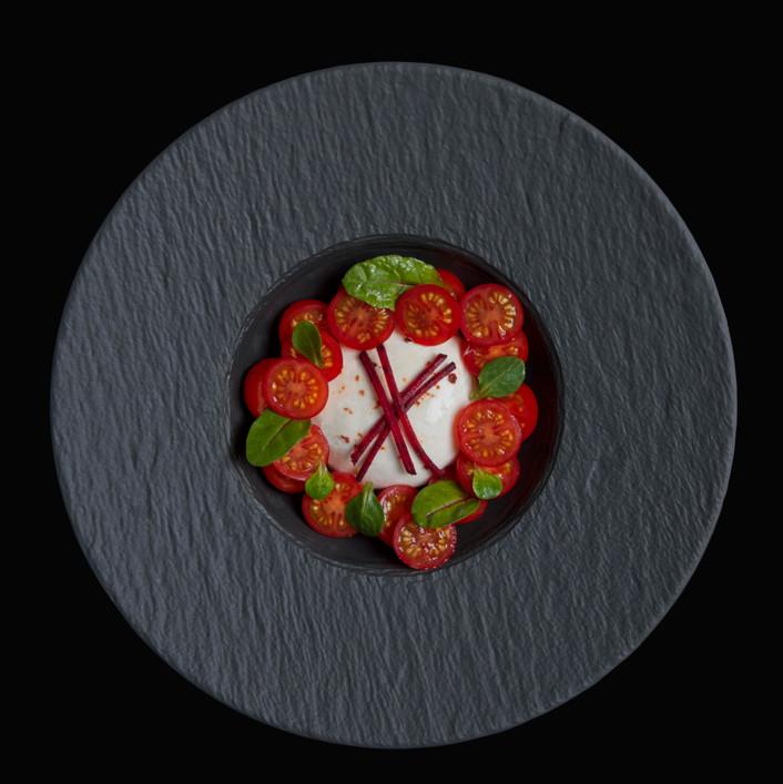 Caprese Salad for magazine editorial