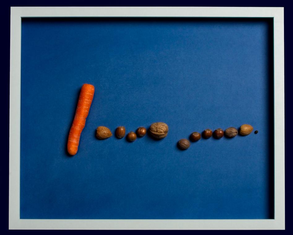 Homage to Miro - Blue Deconstructed