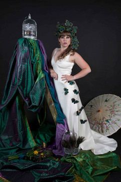 Fashion collaboration with Bridal Village and Manu Mea Millinery