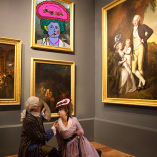 The Portrait - with grateful thanks to the Joseph Wright Gallery, Derby Museum
