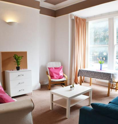 21 Portland Square - Living Room