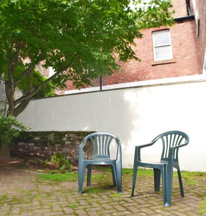 21 Portland Square - Courtyard Garden