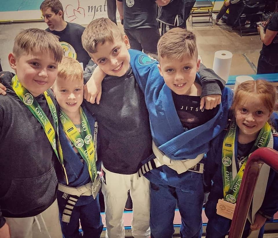 Junior Jiu Jitsu (7-12+)