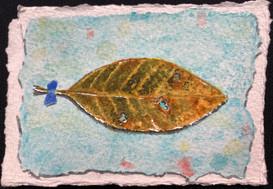 Found Leaf by Shelly Lawson