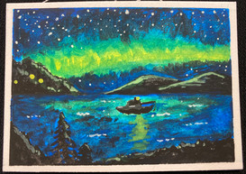 Mill Bay Aurora by Neelam Ibrahim