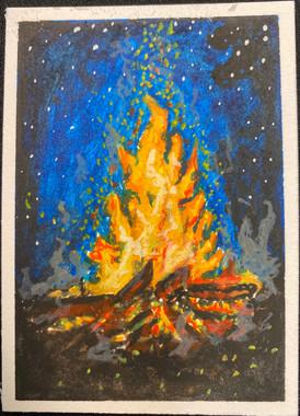 Bonfire by Neelam Ibrahim